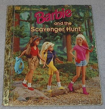 Barbie scavenger hunty1a
