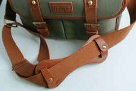 Nikon DSLR BAG/Nicon genuine camera shoulder bag Nicon SLR Canvas bag image 7
