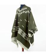 Clint Eastwood Western Cowboy Poncho Serape replica handmade Alpaca wool... - £71.93 GBP