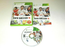 FIFA Soccer 11 Microsoft Xbox 360 Video Game Complete - $6.92