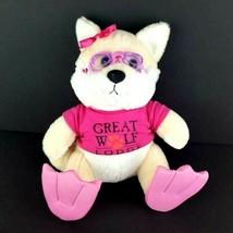 """The Petting Zoo Great Wolf Lodge Pink Swim Fins Scuba Plush 12"""" Stuffed ... - $30.68"""