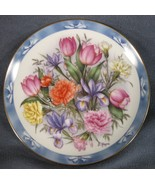 Flowers Of Holland Collector Plate Bouquets of The World Doug Hague Tulips - $21.95
