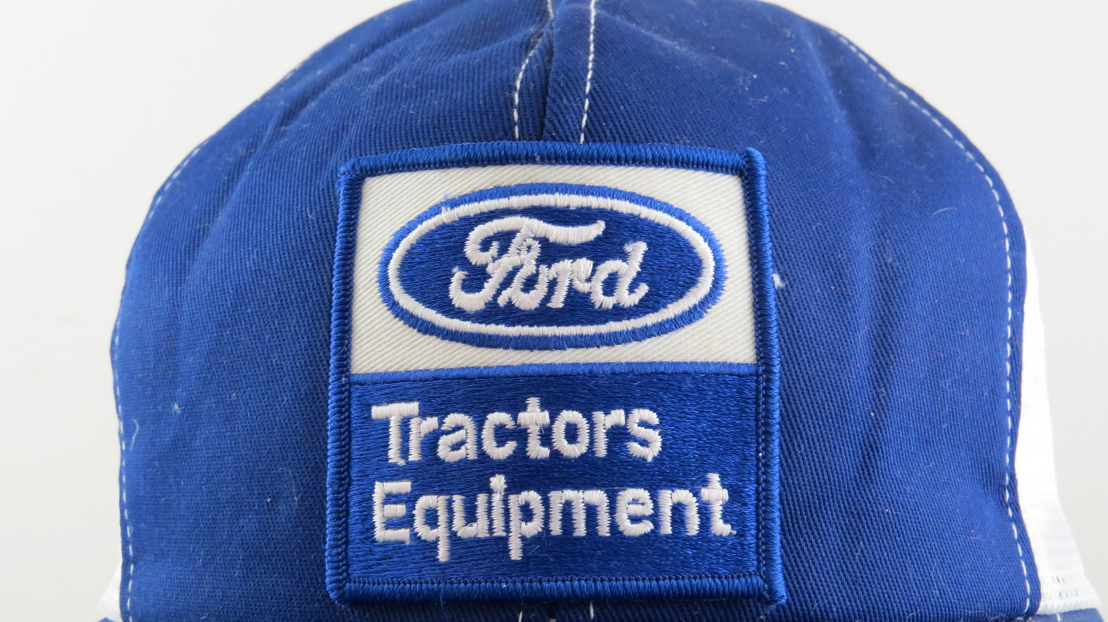 Vintage Patched Trucker Hat - Ford Tractors Equimpent - Adult Snapback