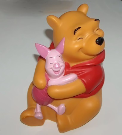 Winnie and piglet bank