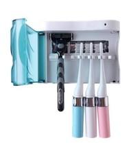 Toothbrush Sterilizer Home Bathroom UV Disinfection Sterilize Toothbrush... - $22.48