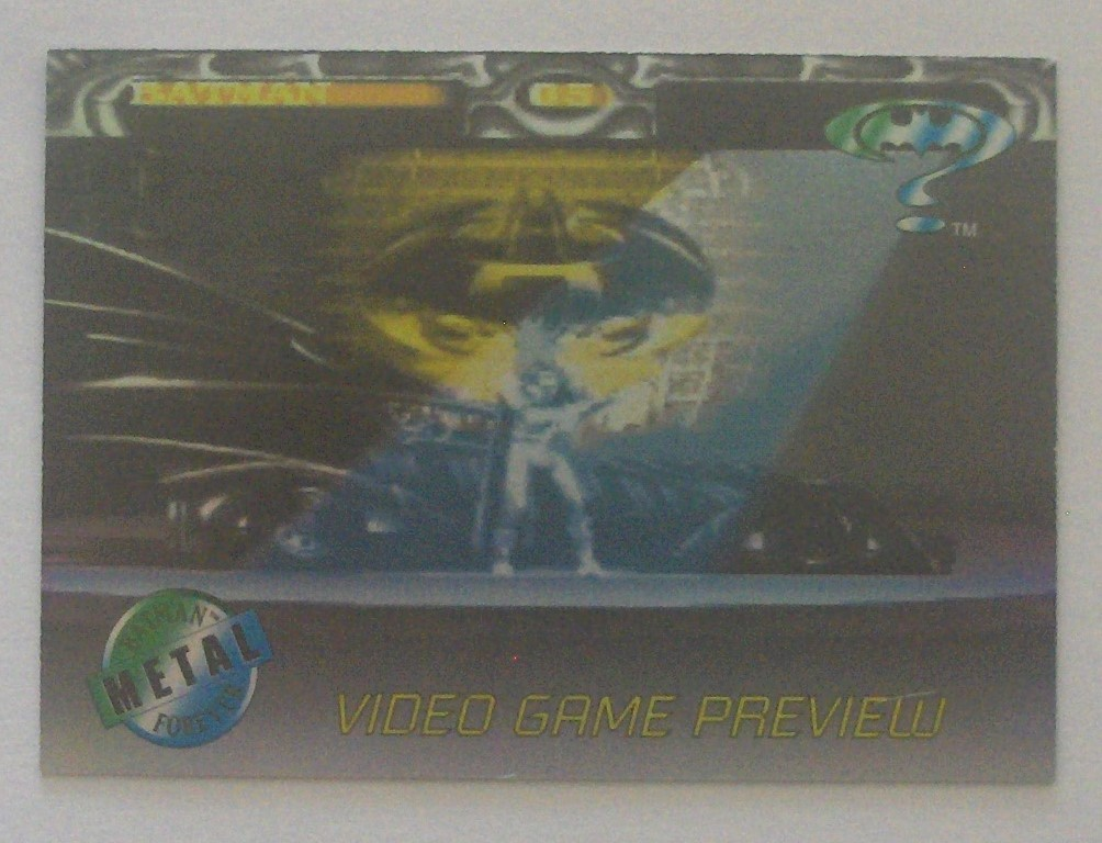Batman Video Game Preview A-1. - $5.25