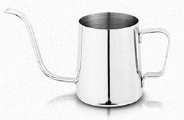 Hand Drip Coffee Pot Kettle Brewed Coffee Pitcher Tea Pot 350ml 11.8oz Stainless