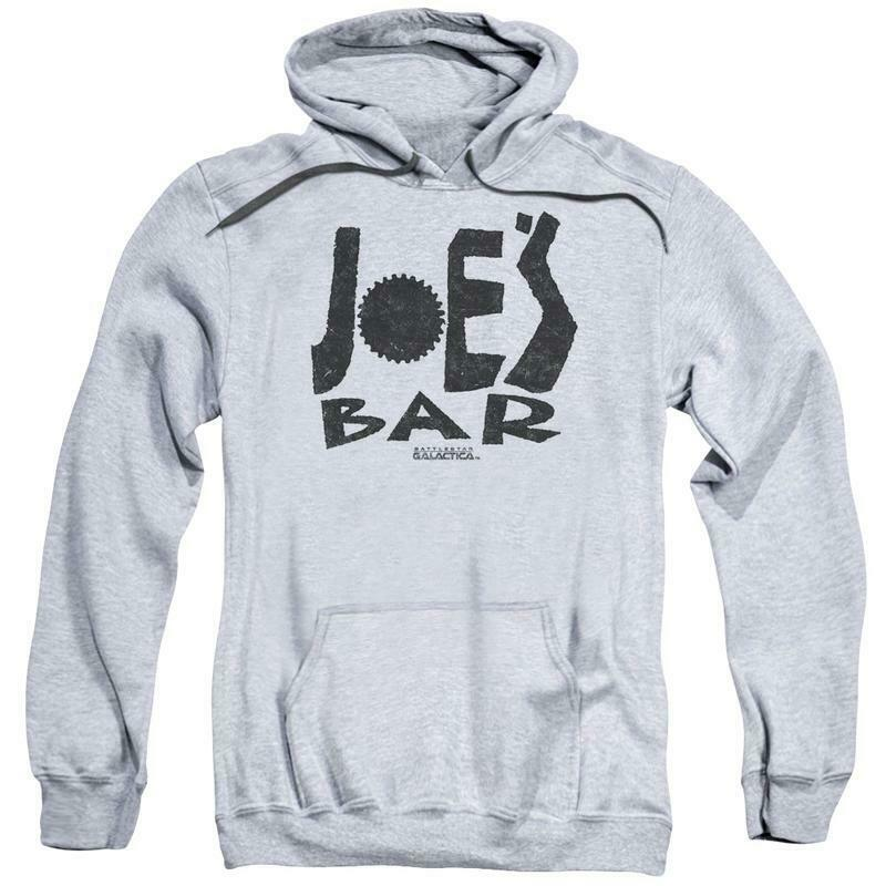 BattleStar Galactica Sci-Fi TV series Joes Bar pullover graphic hoodie BSG273