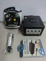 TESTED Nintendo GameCube Video Game Console System + NIP Controller & Cords # 19 - $118.79