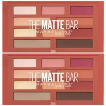 2 Maybelline The Matte Bar Eyeshadow Palette Makeup300 2 Ct ~NEW~ - $12.95