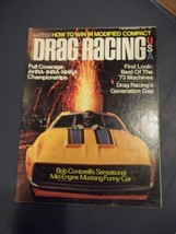 Vintage February 1973 Issue Of DRAG RACING Magazine Best Of The '73 Mach... - $12.86