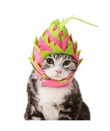NACOCO Cat Pitaya Hat Dog Halloween Fruit Headwear Pet Cute Cap Costume ... - $12.86
