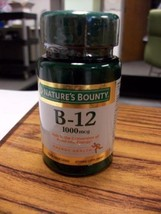 2 Natures Bounty B-12 Vitamin 1000 mcg Energy H... - $15.46