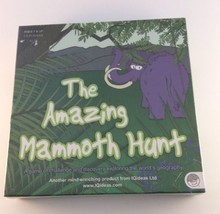 The Amazing Mammoth Hunt Board Game Geography Educational Mindware  - $39.59