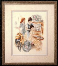 1992 Cross Stitch Piano Hour Victorian Ladies Stoney Creek Pattern      ... - $12.99