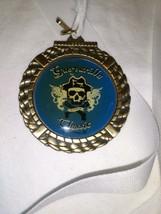 '09 GASPARILLA Classic St. Petersburg FL Race Finisher's Medal Skull &am... - $10.69