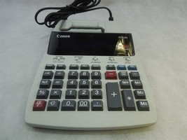 Canon P170-DH Compact Desktop Printing Calculator 12 Digit Calendar Clock  - $14.80