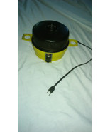 Vintage Toastmaster Electric Egg Cooker With Lid- Model 6501- Yellow/Gol... - $26.50