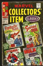 MARVEL COLLECTOR'S ITEM CLASSICS #8 FF Dr. Strange DITKO Hulk Iron Man J... - $23.24