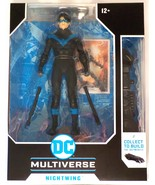 DC Multiverse McFarlane Toys Nightwing includes all 3 BAF Batmobile pieces - $34.99