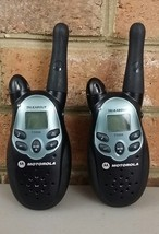 Set of 2 Motorola Talkabout T5000 2-Way Radio Walkie Talkies - $21.68