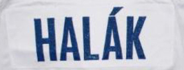 Jaroslav Halak Team Slovakia Retro Hockey Jersey New White Any Size image 3