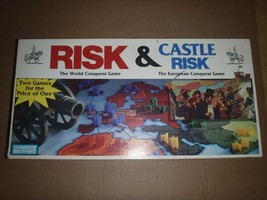 Vintage Risk & Castle Risk Parker Brothers Board Game - $46.74