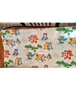 Care Bears Christmas Gift Wrap 1986 Vintage Partial Roll approx 15 sq ft... - $19.77
