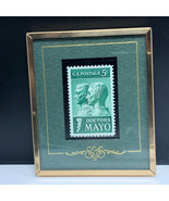 Doctors Mayo stamp drs 1964 us postage stories texas S&S framed 5 cents ... - $17.82