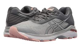 Asics GT 2000 v 6 Size US 6 M (B) EU 37 Women's Running Shoes Grey Pink T855N