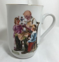 The Toymaker Vintage 1982 Norman Rockwell Coffee Cup Tea Mug Museum Deco... - $14.70