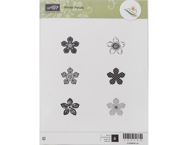 Stampin' Up! Petite Petals Rubber Stamp Set #133155