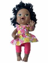 Baby Alive Super Snacks Snackin Sara Doll Black Hispanic Bilingual Talks... - $24.74