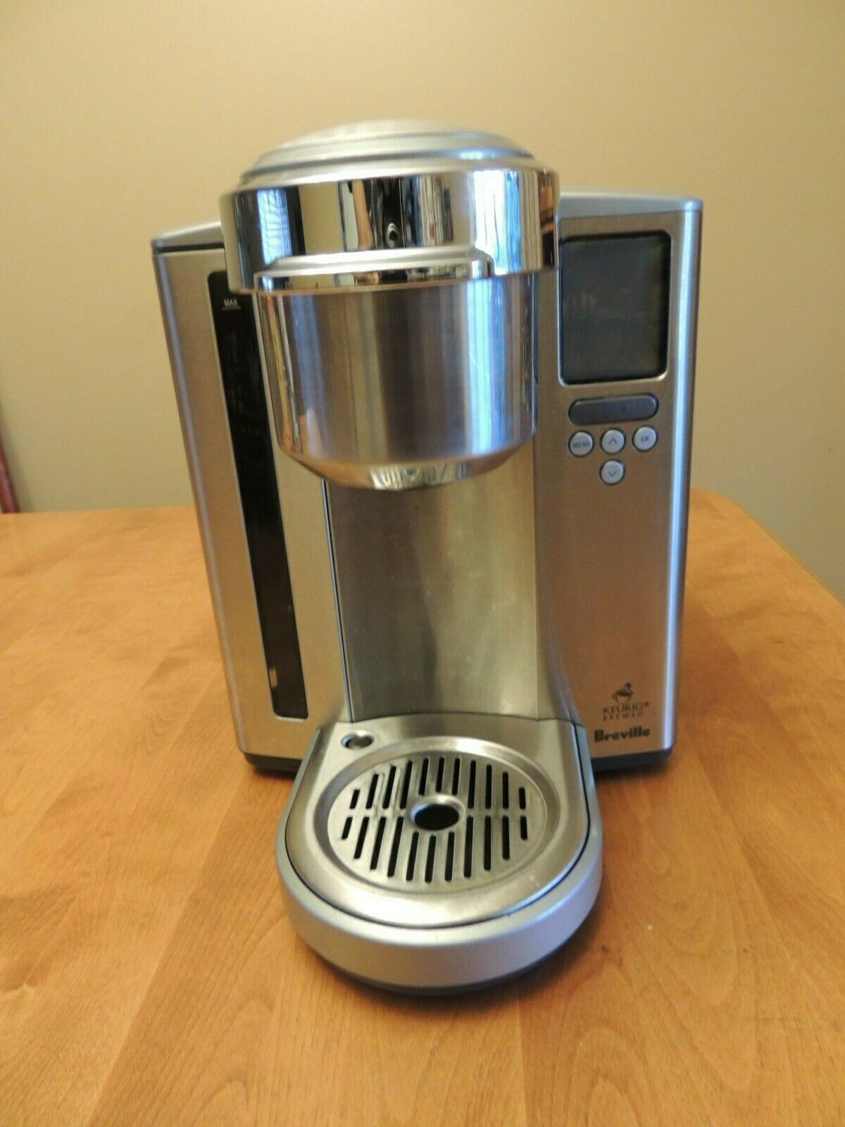 Breville BKC 700 XL Stainless Steel Gourmet Keurig K- Cup Coffee Brewer BKC700XL image 2