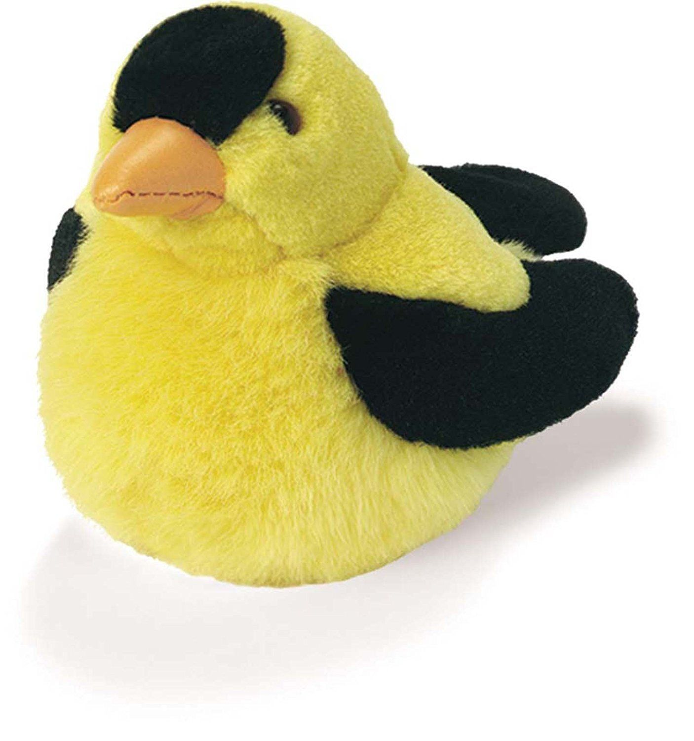 American Goldfinch - Audubon Plush Bird Authentic Bird Sound