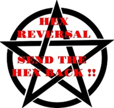 HEX Reversal, send back the negative karma, black magick, curse removal - $47.00