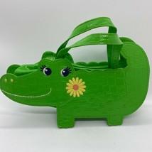 Gymboree Daisy Days Alligator Shape Purse Green - $38.40