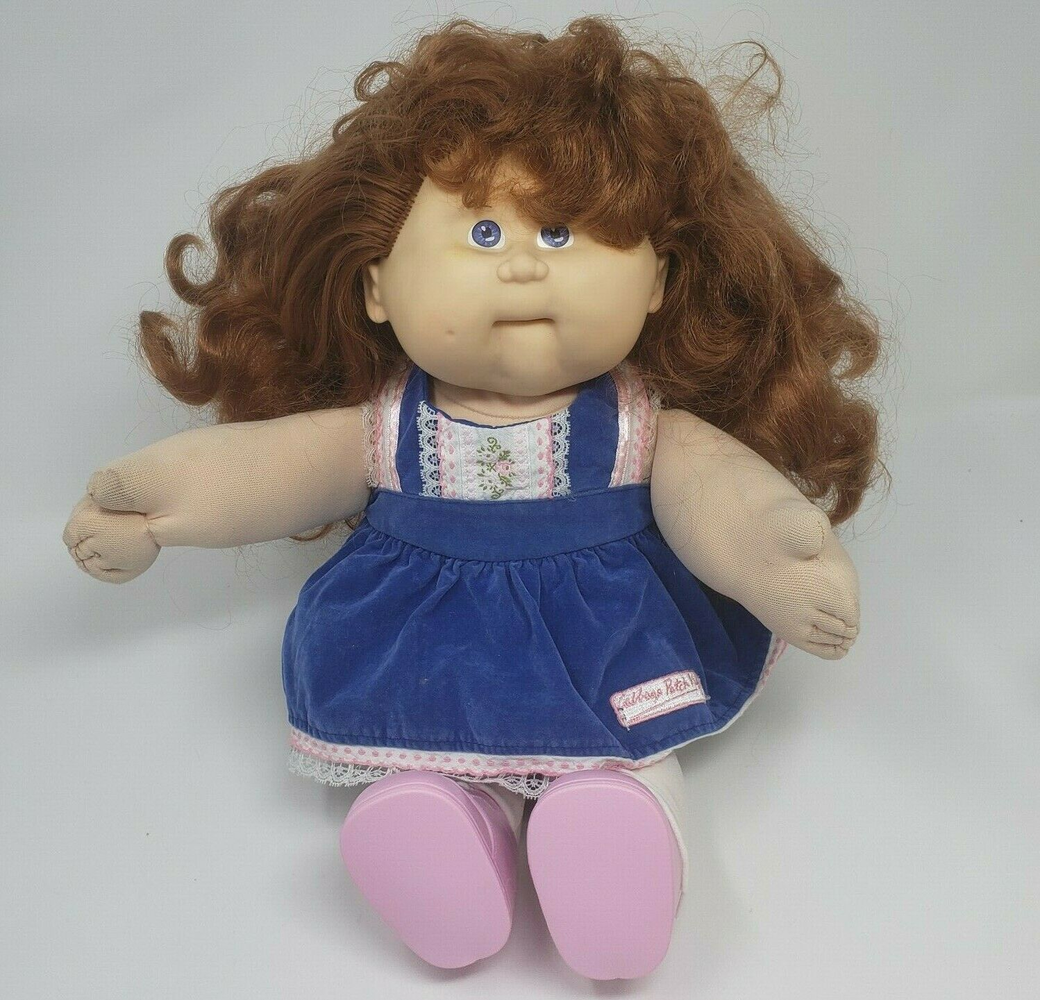 Primary image for VINTAGE 1988 CABBAGE PATCH KIDS CPK GIRL DOLL PLUSH NON TALKING BROKEN REPAIR  B