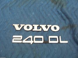 240 DL USED TRUNK TRIM EMBLEM 1993 1992 1991 1990 ORIGINAL VOLVO ORNAMENT - $58.06