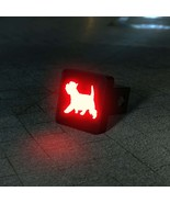 Westie - West Highland White Terrier Silhouette LED Hitch Cover - Brake ... - $49.95