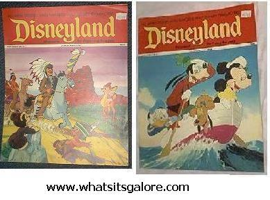 Disneyland Magazine issues #12 & 61, 1972