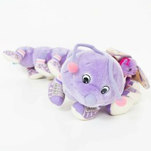 "Lotsa Lotsa Leggggggs Caterpillar Butterfly Plush 28"" Purple Sound VTG 2... - $31.57"