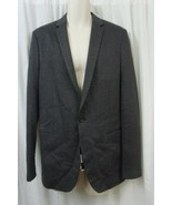 Theory Mens Blazer Sz 40 Charcoal Grey Business Career Evening Casual Bl... - $168.26