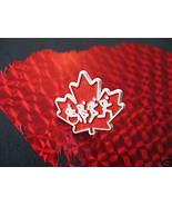 Vintage CANADA MAPLE LEAF Souvenir Lapel Pin - $4.99