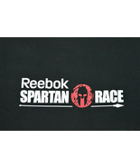 Reebok Spartan Race Black T-Shirt Short Sleeve Small I Finished Can You - $34.64