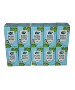 Lot 10 Box Secret Calm Birch Water Wipe 15 Ct Wrapped Body Cleansing 150... - $51.36