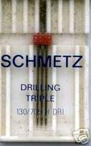 3 NEW Schmetz TRIPLE 3.0 GAP 12/80  BEST Needles - $11.99