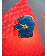 ALASKA STATE FORGET-ME-NOT FLOWER Souvenir Lapel Pin - $4.99
