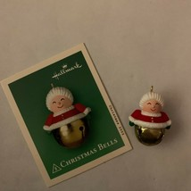 Hallmark Keepsake Miniature Christmas Bells Ornament 2002 Holiday Tree D... - $9.49