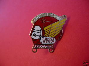GOLDWING ROAD RIDERS ASSOCIATION MOTORCYCLE Lapel Pin Hat Pin Collector